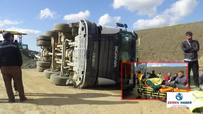 Silivri'de sıkışmalı trafik kazası