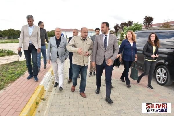 Başkan Yılmaz TÜRAM'I inceledi