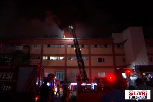 Büyükçekmece'de fabrika yangını: 4 kişi hayatını kaybetti