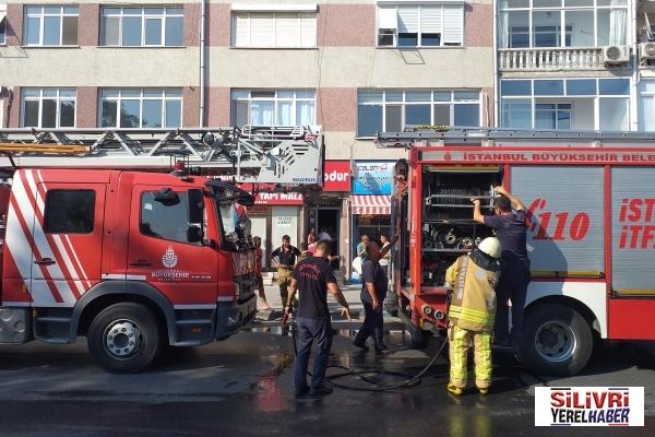 Tinercilerin yaktığı ateş paniğe neden oldu?