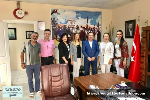 İSMMMO temsilcisi Kesen'den Ercan Çalışkan'a ziyaret