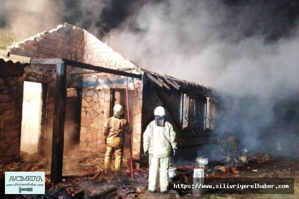 Çiftlik'deki yangında kundaklama şüphesi