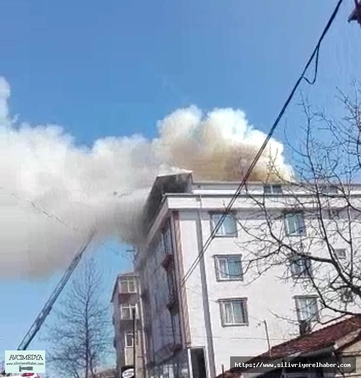 Çanta Mahallesinde Korkutan Yangın