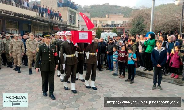 Şehit Uzman Onbaşı Akkaya, son yolculuğuna uğurlandı