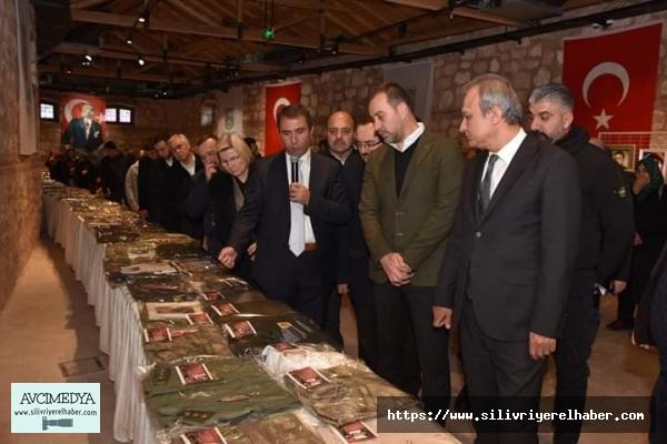 Silivri'de 'Şehit ve Devlet Büyükleri Emanetleri Sergisi' büyük ilgi gördü