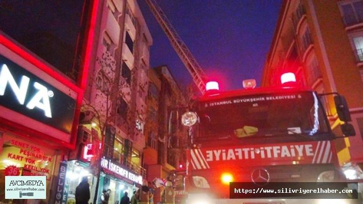 Alibey Mahallesindeki Yangın Korkuttu