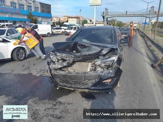Silivri'de Zincirleme Trafik Kazası