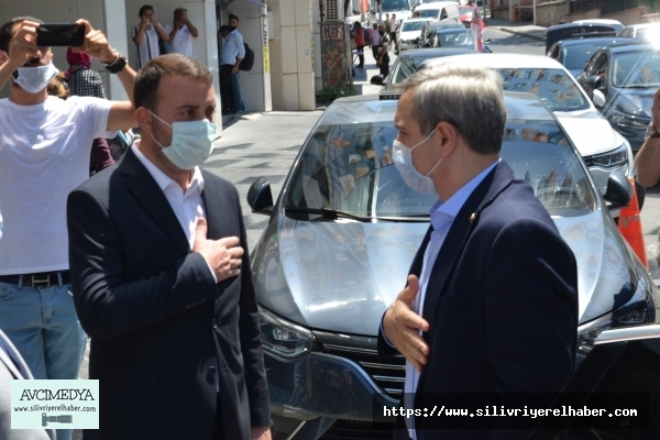 Bayram Şenocak, Mutlu Bozoğlu'nu Ziyaret Etti