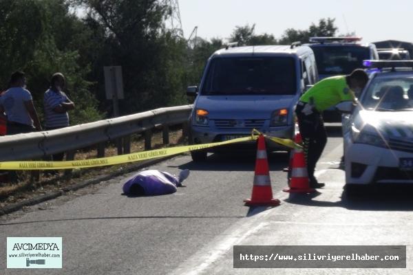 Silivri'de Akılalmaz Kaza: 1 Ölü