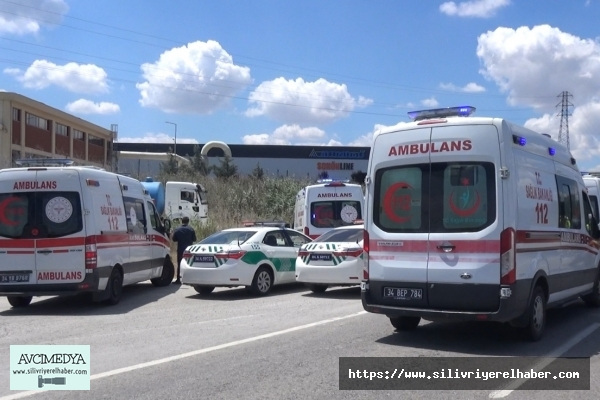 SİLİVRİ'de Trafik Kazası: 7 yaralı