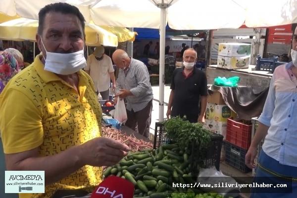 SİLİVRİ'DE Yeşilçam Oyuncusuna Yoğun İlgi