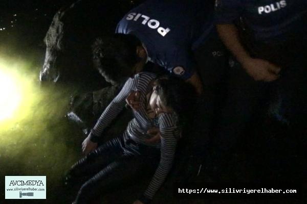 SİLİVRİ'de Denize Girerek Kaybolan Suriyeli Kız Çocuğu Polis Ekipleri Tarafından Bulundu