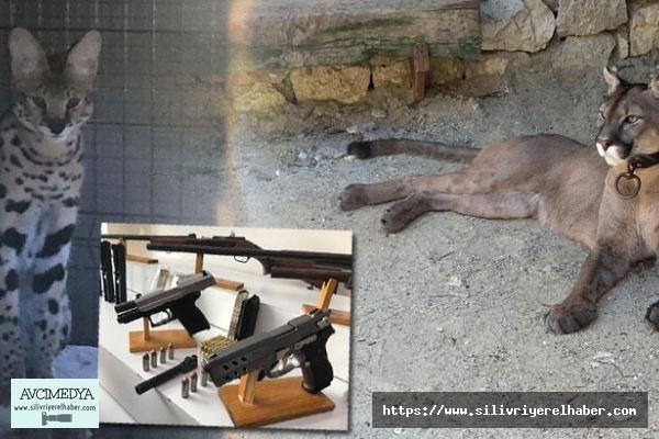 Silivri'deki Bir Eve Yapılan Operasyonda 'PUMA' çıktı