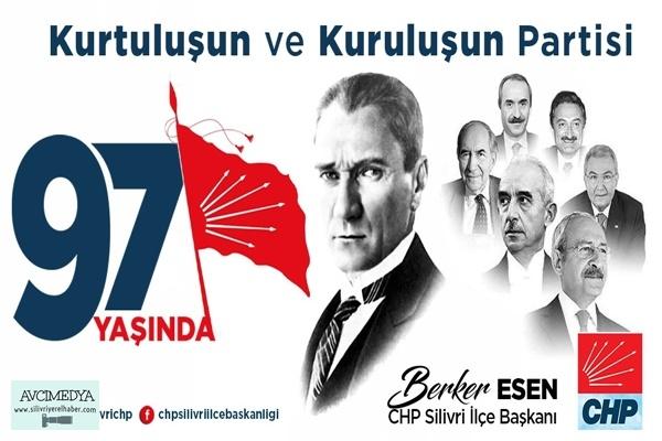 Berker Esen Partisinin 97 Yıl Kuruluş Dönümü Kapsamında Mesaj yayımladı
