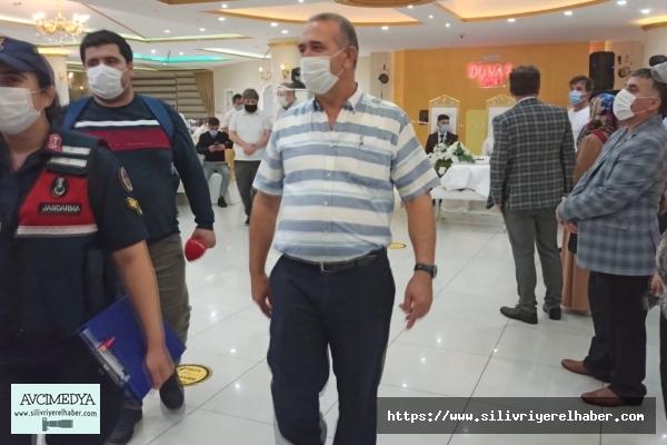 Silivri'de Jandarmadan Koronavirüs Denetimi