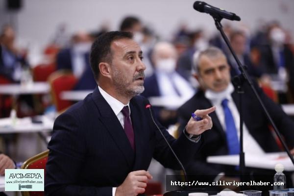 """Başkan Volkan Yılmaz, '' 'SIFIR ATIK' VURGUSU: """"ÇÖPTEN ELEKTİRK ÜRETMEKLE ÖVÜNEMEYİZ!"""""""