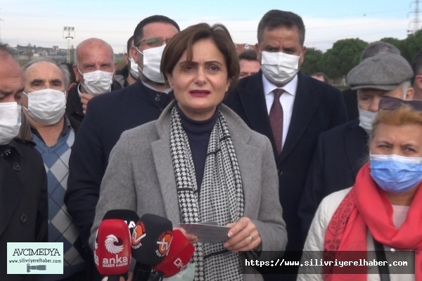 CHP'li İl Başkanı Kaftancıoğlu Silivri'de Arazi Tahsisi Hakkında Konuştu