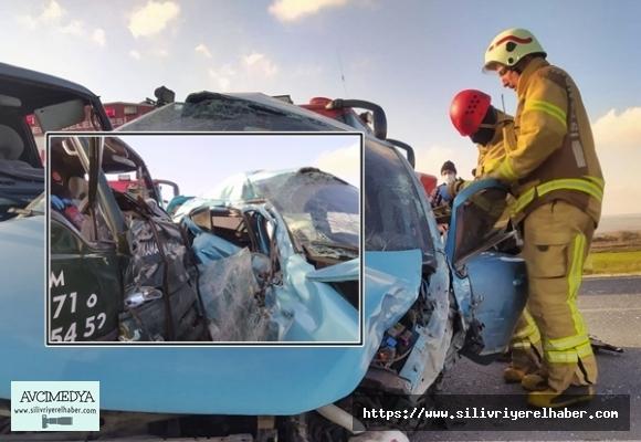 Silivri'de Feci Kaza: 1 ölü 2 yaralı