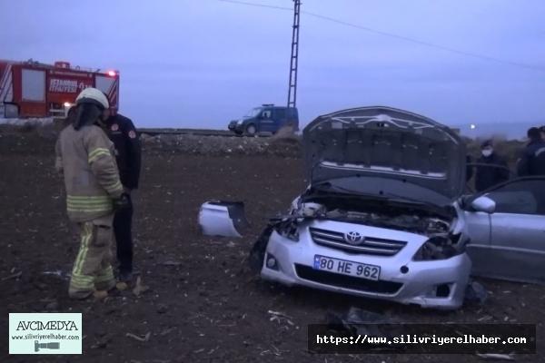 Silivri'de Trafik Kazası: 1 yaralı