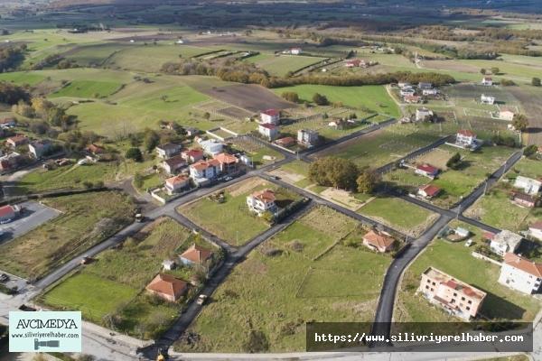 Silivri'nin köyleri asfaltla buluşmaya devam ediyor