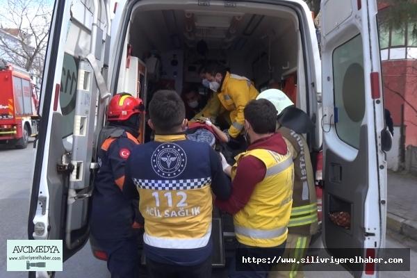 Silivri'de 8 yaşındaki çocuk balkondan düşerek yaralandı