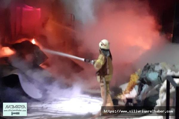 Silivri fabrika yangını