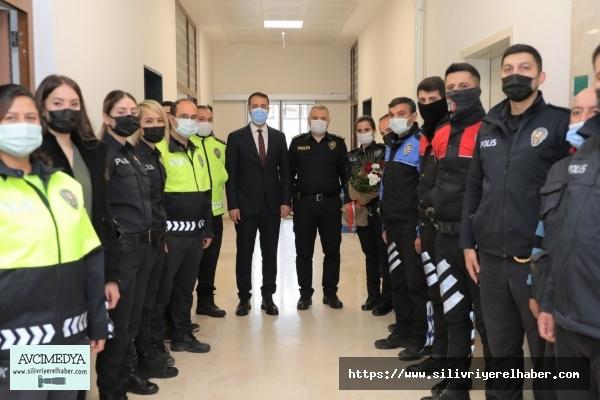 Silivri Belediyesinden Polislere Anlamlı Sürpriz