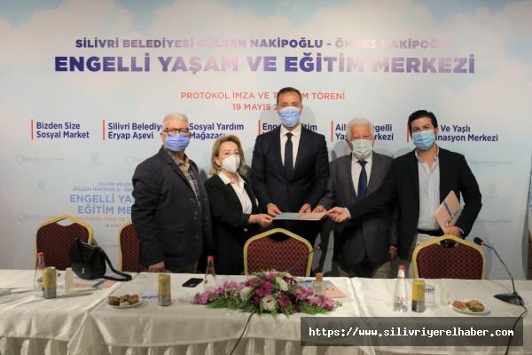 """""""Engelli Yaşam ve Eğitim Merkezi"""" için protokol imzalandı"""