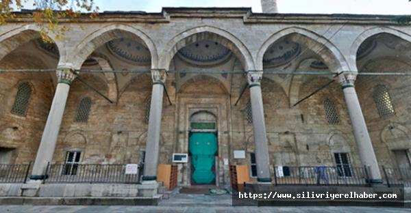 Silivri'de camilerden Kudüs için dua ve sala okundu