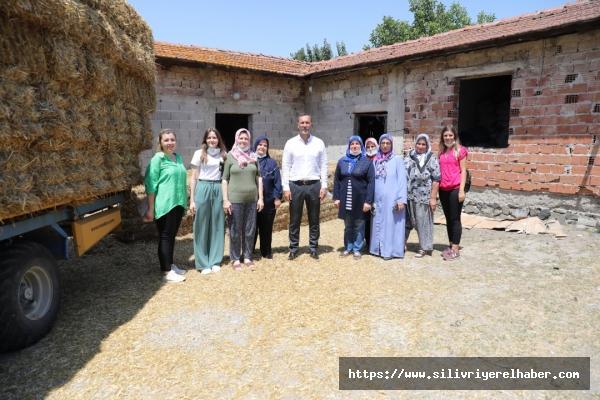 Silivri Belediyesinden Türkiye'de Eşi Görülmemiş Tohumluk Arpa Desteği
