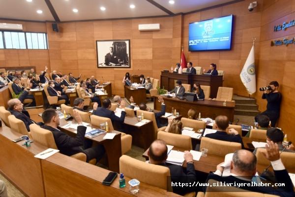 Silivri Belediyesinin 2022 yılı için oluşturulan 445 Milyon TL olarak kabul edildi
