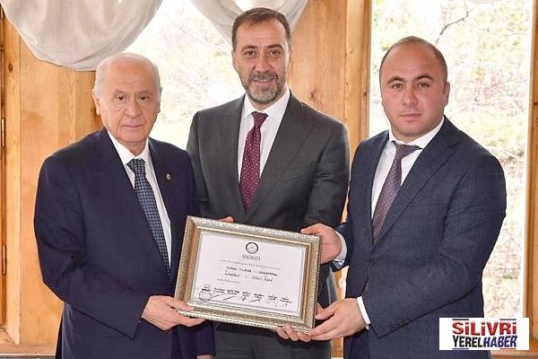 Genel Başkan Devlet Bahçeli, Yılmaz'ı tebrik etti