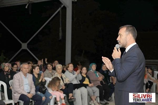 Başkan Volkan Yılmaz'dan Kurfallı'ya müjdeler