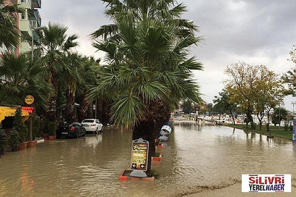 Silivri'ye kuvvetli yağış uyarısı
