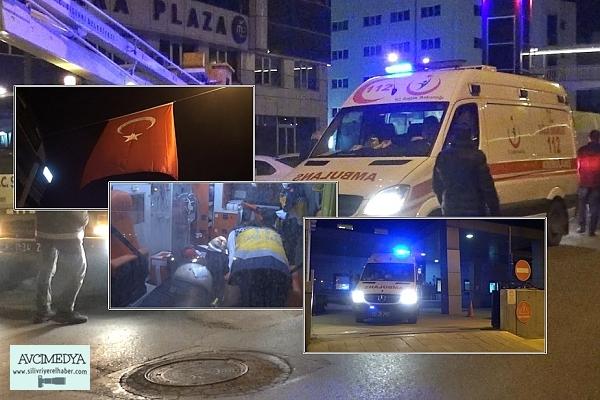 SİLİVRİ'de Belediye Görevlisi Türk Bayrağı Asarken Bıçaklı Saldırıya Uğradı
