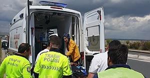 Silivri'de TIR kazası