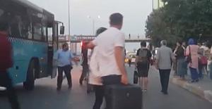 Silivri Birlik yolcuları Şoförü darp etti