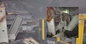 Silivri#039;de market deposunda yangın...