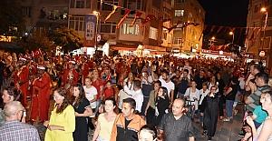 30 Ağustos Zafer Çoşkusu Sokaklara Taştı