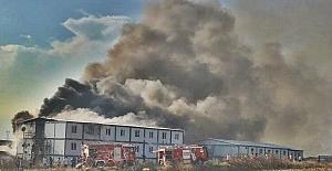 Silivri#039;de korkutan yangın