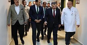 Sağlık Bakanı Silivri'de incelemelerde bulundu