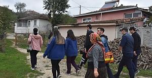 Belediye ekiplerinden ev ev sağlık taraması