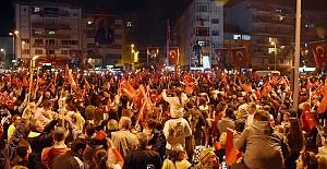 Binlerce Silivrili Cumhuriyet Yürüyüşünde Buluştu