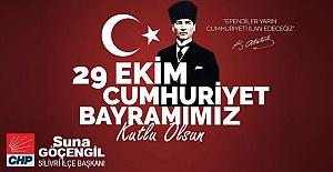 Göçengil'den Cumhuriyet Bayramı Mesajı