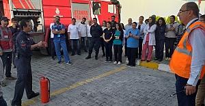 Silivri Cezaevinde Yangın Tatbikatı Yapıldı