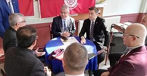 Başkan Esen İBB Yetkilileriyle Birlikte Değirmenköy'de