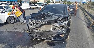 Silivri#039;de Zincirleme Trafik Kazası