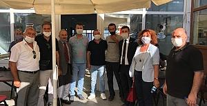 CHP Silivri Bayramın Son Gününde Hemşehrilerle Bir Aradaydı