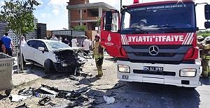 Kavaklı'da Trafik Kazası: 3 yaralı