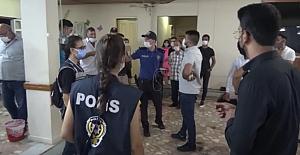 Silivri Polisin#39;den Düğüne Koronavirüs...